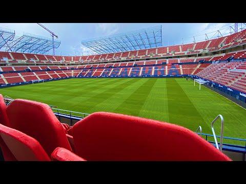 El Sadar Stadium work progress | October 2020