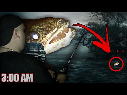(SEA MONSTER APPEARED) DO NOT GO FISHING AT 3:00 AM | *GONE WRONG* | EVIL SPIRITS IN WATER!