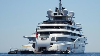 Serene, Maryah, Topaz, Katara,Quantum Blue & Royal Romance super yachts in Monaco 2015