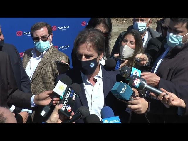 ℹ GOBIERNO DE TREINTA Y TRES PARTICIPO DE LA INAUGURACION DE LA PLANTA CIELO AZUL.