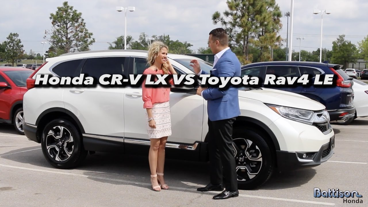 2017 honda cr v vs toyota rav4 okc customer review youtube. Black Bedroom Furniture Sets. Home Design Ideas