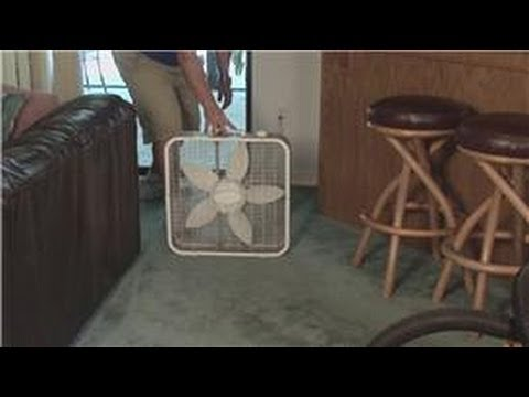 Carpet Cleaning : How To Remove Moisture From A Carpet