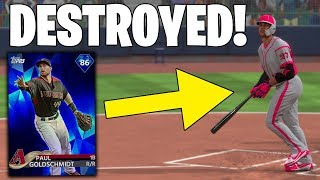 GIANCARLO STANTON CRUSHED THIS HOME RUN! GOING FOR DIAMOND GOLDSCHMIDT MLB The Show 18 Battle Royale