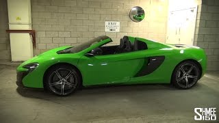 McLaren 650S - Lift System Demonstration