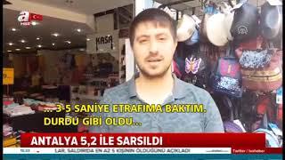 Antalya'da Yaşanana Deprem Ne Anlama Geliyor