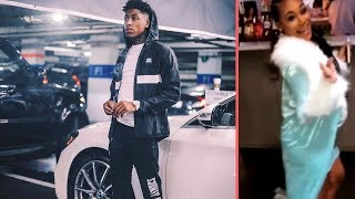 NBA YoungBoy and His Baby Mama/Ex-Girlfriend Jania Bania Go At It The Day After The Baby Shower