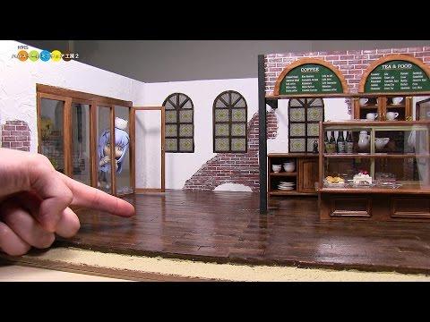 DIY Miniature Dollhouse - Extension ドールハウス(カフェ)を増築します