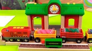 Развивающее видео для детей - Веселая Школа - цвета и пластилин (Play Doh)(Детская передача