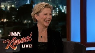 Annette Bening on Captain Marvel Spoilers
