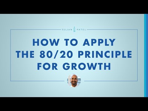 Applying the 80/20 Principle To Marketing