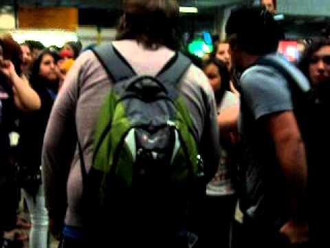 Never Shout Never - Aeroporto - 28.08.2011 - Afonso Pena !