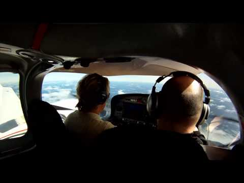 Multi-Engine Rating in 12 Days - Day 2 - Full Video with Cockpit and ATC