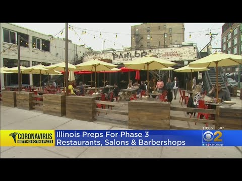 Illinois Preps For Phase Three Of Restaurants, Salons And Barbershops