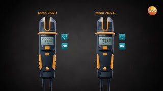 The current/voltage tester testo 755 | We measure it. Testo(, 2016-05-23T11:14:37.000Z)