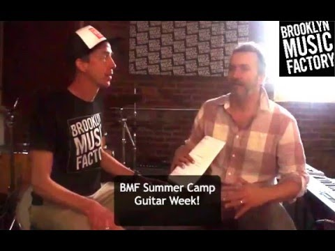 Brooklyn Music Factory Specialty Camps - Guitar Week!