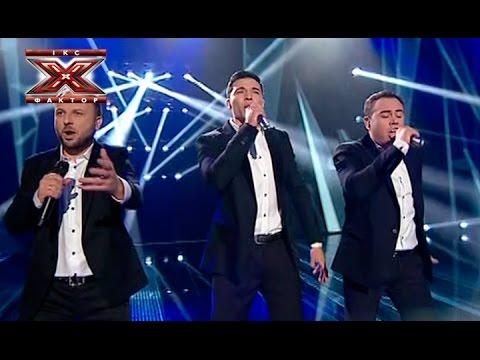 Трио Экстрим - The Show Must Go On - Queen - Х-Фактор 5 - Седьмой прямой эфир - Финал