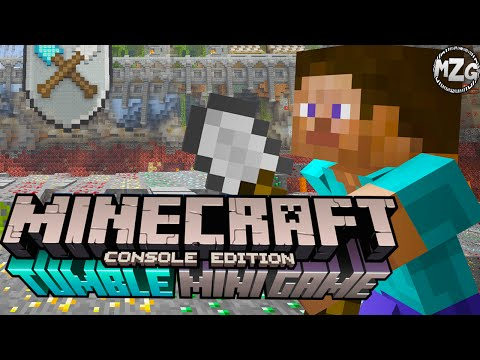 Spleef Game Mode!? - Minecraft PS4 Tumble Mini Game Gameplay - Episode 1