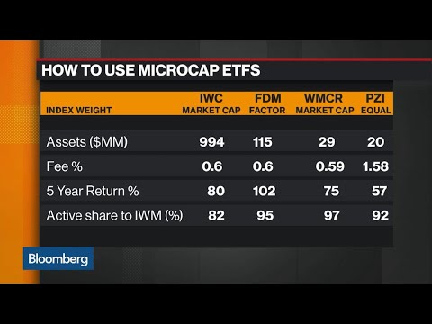 Microcap ETFs Attempt to Challenge Private Equity
