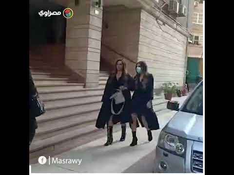 عزاء ابنة جومانا مراد.. وصول وفاء عامر واستمرار توافد الفنانين