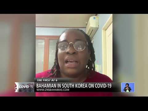 BAHAMIAN IN SOUTH KOREA ON COVID-19
