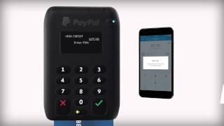 PayPal Here – How to take Chip and PIN payments