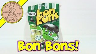 Bon Bons Chewy Candy Apple Manzana, Pomme Eiffel France - French Candy Tasting