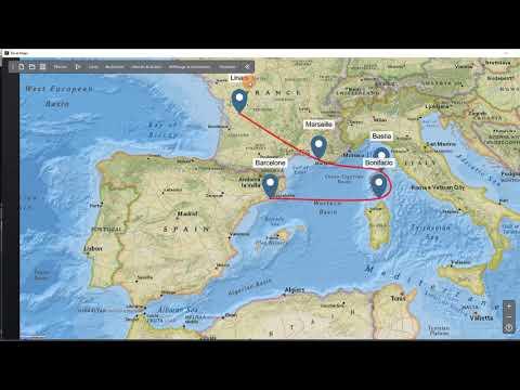 Découverte de Travel Maps
