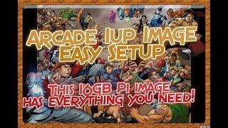 Arcade 1UP Retropie Mod 16GB Image, Budget Image with an Amazing Intro Video!
