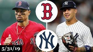 Boston Red Sox vs New York Yankees - Full Game Highlights | May 31, 2019 | 2019 MLB Season