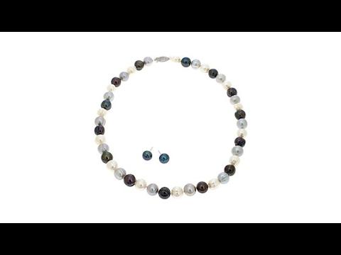 Imperial Pearls Multi Cultured Pearl 2pc Jewelry Set. https://pixlypro.com/cXWmC2o