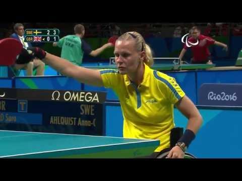 Table Tennis | SWE vs GBR | Women's Singles - Class 3 Group A | Rio 2016