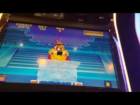 Emperor Penguin vs Outback Jack! *Jackpot hunting* All features shown plus jackpots!
