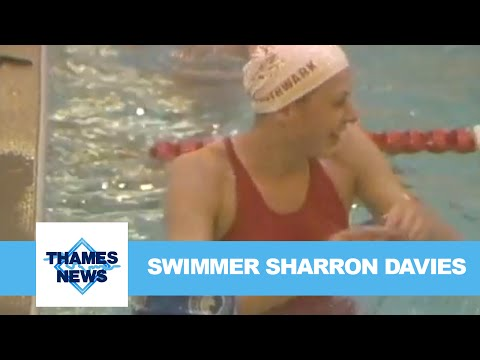 Swimmer Sharron Davies | Thames News