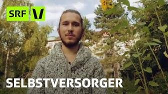 Selbstversorger: Dieser junge Basler ernährt sich vom eigenen Garten | Virus Voyage | SRF Virus