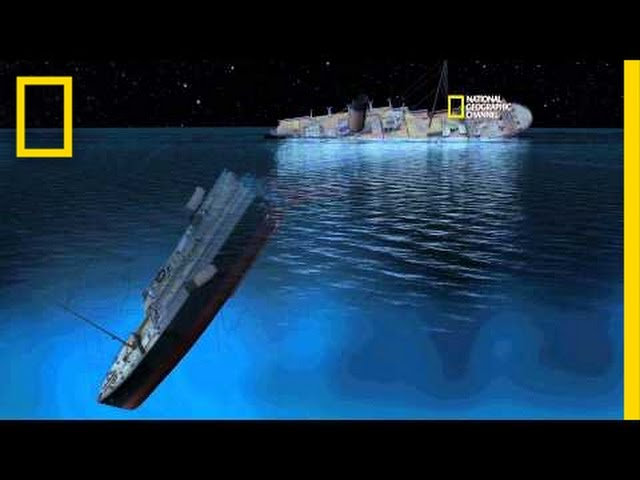 New CGI of How Titanic Sank   Titanic 100