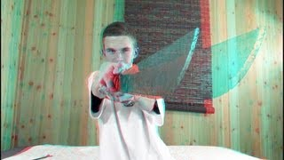 3D Video extreme!!! (evo 3D Works)(More 3D http://goo.gl/70TOu 3D Video that is the most crazy 3D video you will ever see. I take a real machete and turn it on right at your face in 3D. This 3d video ..., 2012-04-23T18:56:58.000Z)