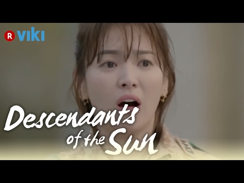 descendants-of-the-sun---ep5-|-song-joong-ki-covers-up-wet-song-hye-kyo-[eng-sub]