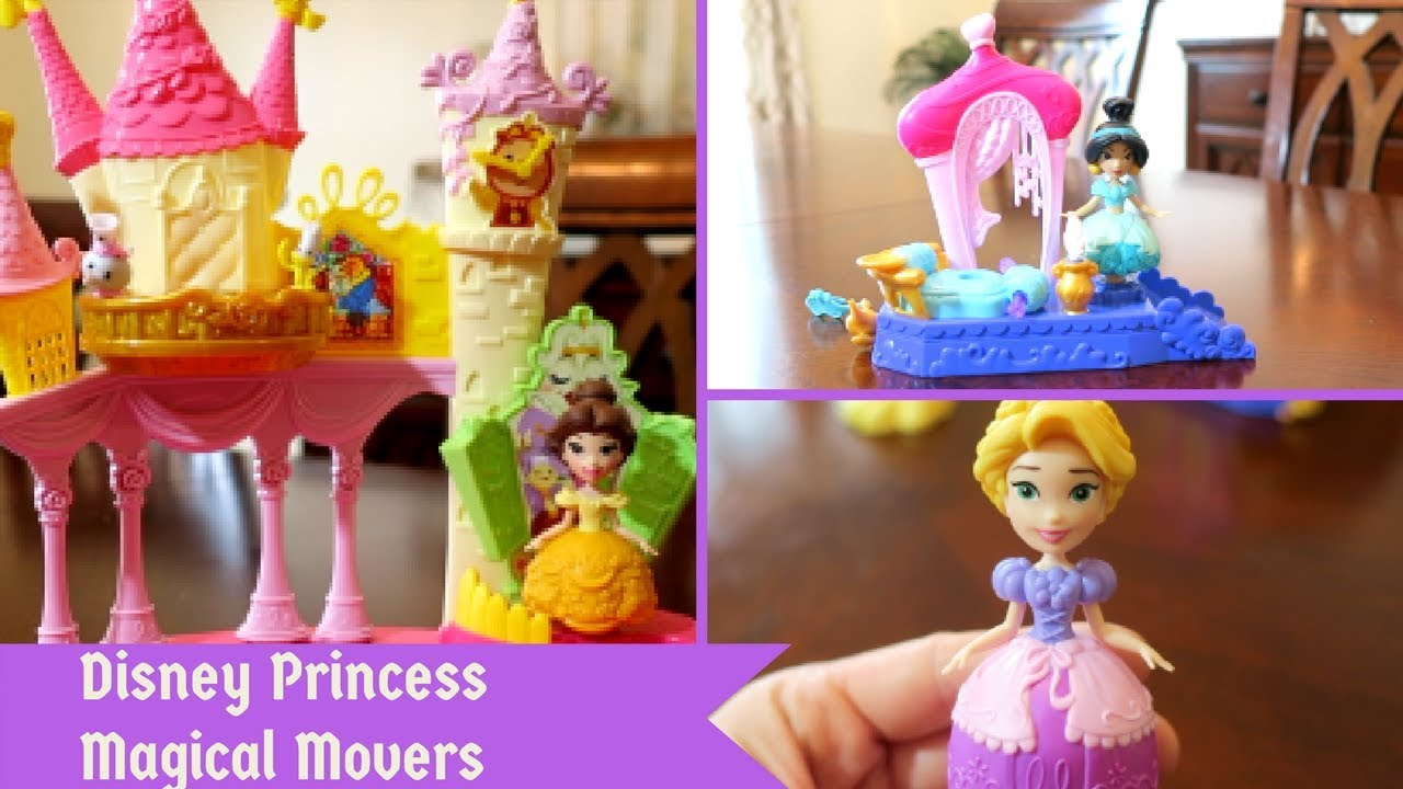 All NEW Disney Princess Magical Movers Toy REVIEW ...