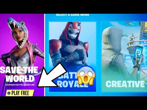How To Get Save The World For FREE! *FINALLY* - Fortnite