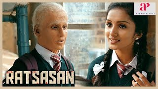 Ratsasan Movie Scenes | Vishnu Vishal learns Saravanan's past | Radha Ravi | Kaali Venkat