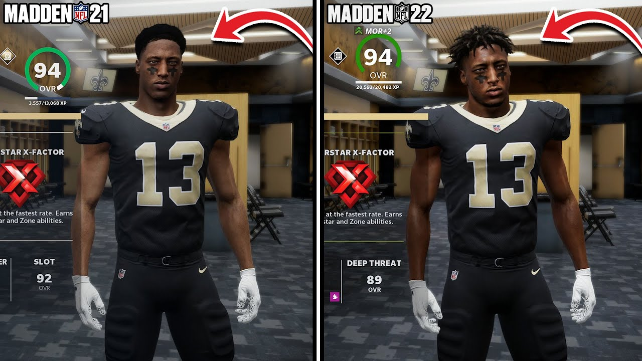Madden 22 vs Madden 21 Side by Side! It's Not Even CLOSE! - YouTube