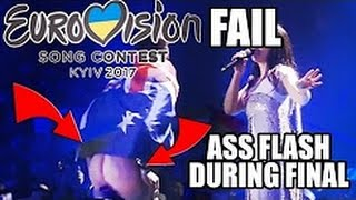 Man shows ass on stage | Eurovision Song Contest 2017 FINAL LIVE (Long Version)