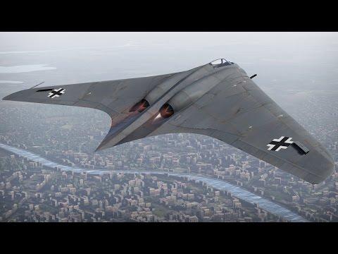 Турбореактивный самолет Horten 229. War Thunder
