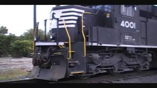 NS 2 PR43C's 4001 & 4003, ANniston AL 5-15-11.