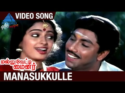 Mallu Vetti Minor Tamil Movie Songs | Manasukkulle Video Song | Sathyaraj | Seetha | Shobana