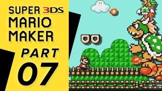 Super Mario Maker 3DS - Super Mario Challenge: WORLD 07