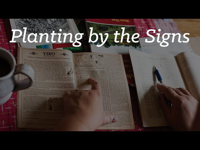 Planting by the Signs: Preserving an Appalachian Tradition