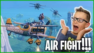 The Airplane Fight!