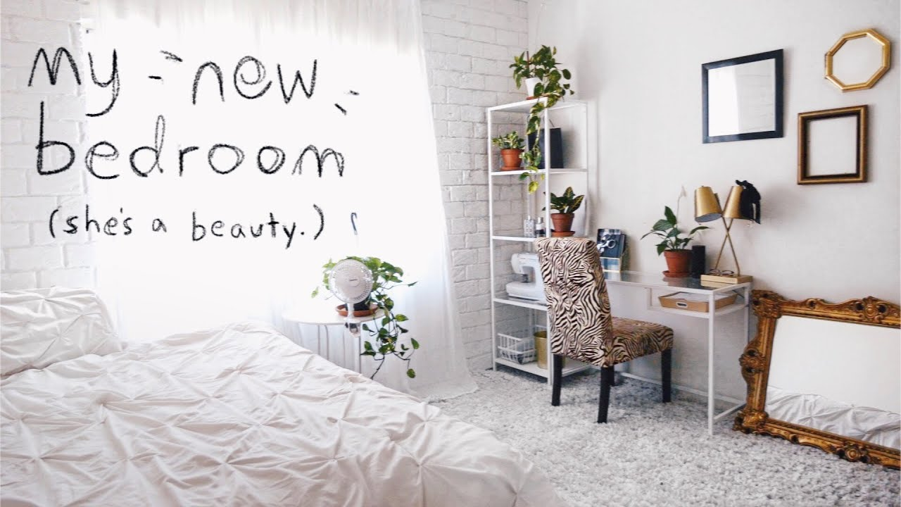 The Ultimate Bedroom Makeover Room Tour Youtube