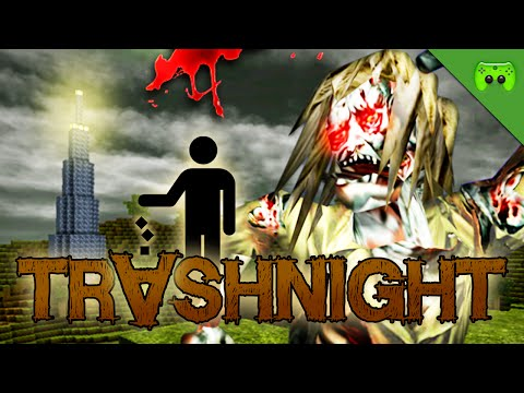 CASTLE MINER Z 🎮 Trashnight #128